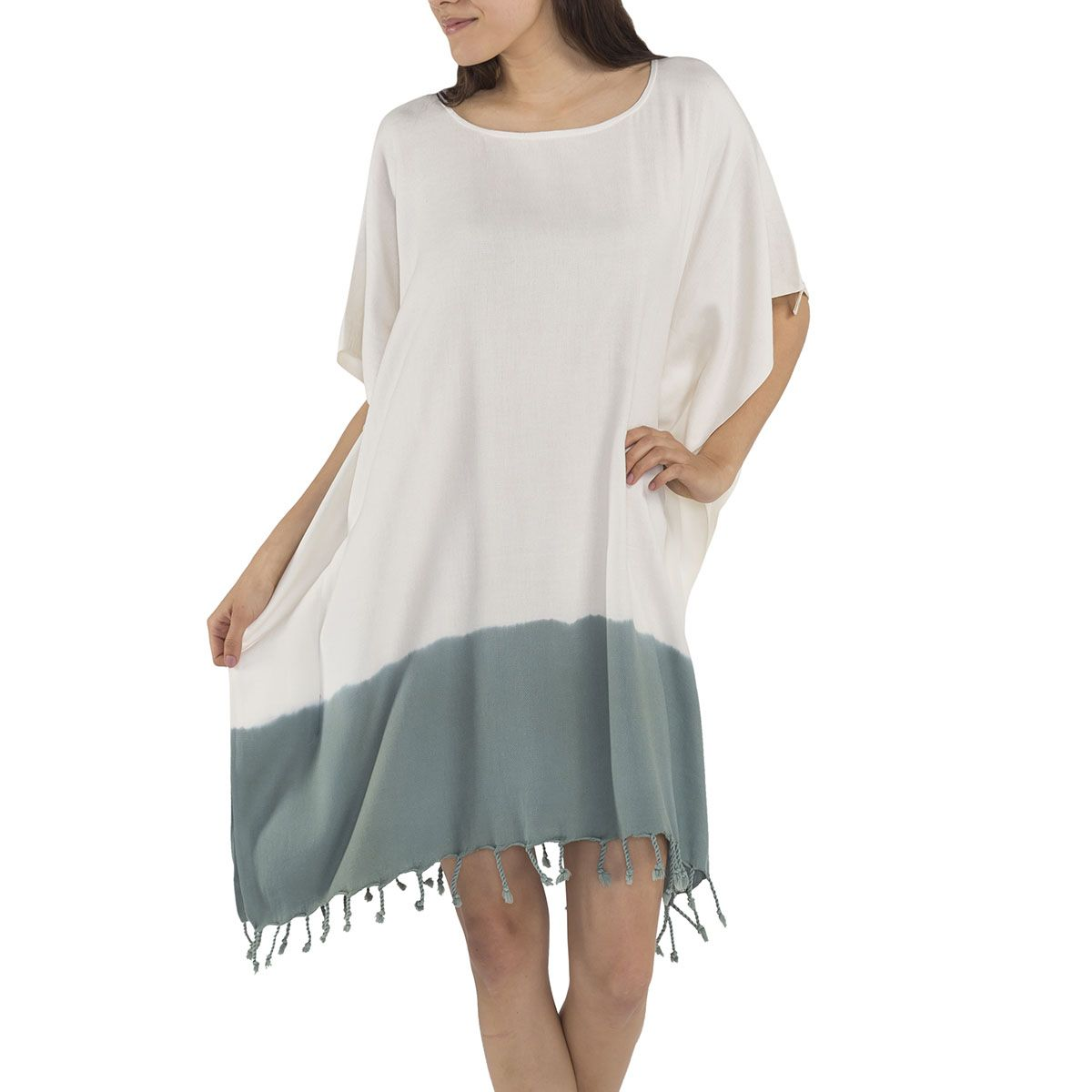 Tunic Minzi / Tie Dye - Bottom Almond Green
