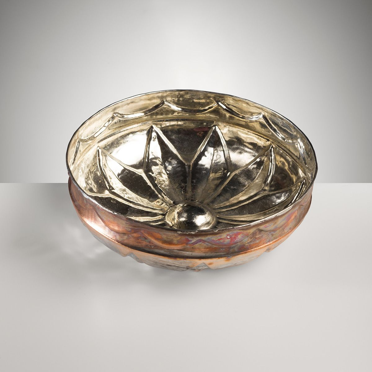 Copper Bowl Plated - Big