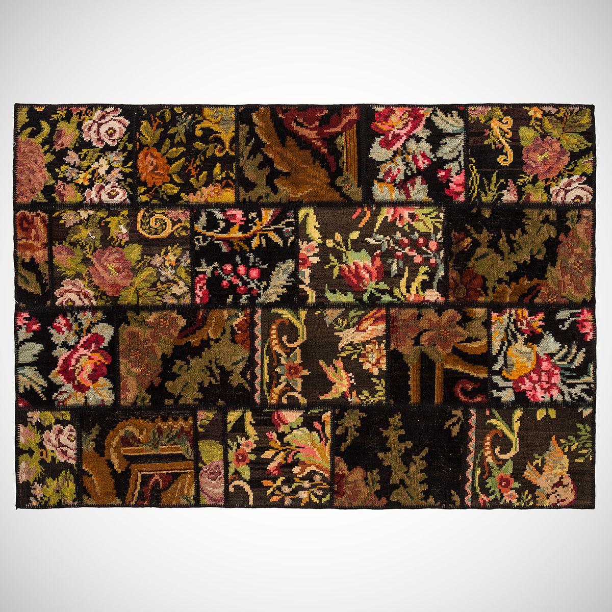 Carpet Patchwork - Rose - 3,61 m2