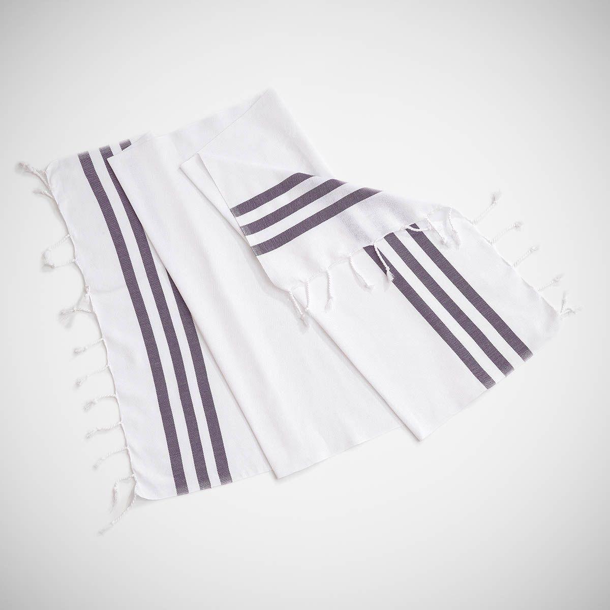 Peshkir Bala Sultan - Dark Purple Stripes