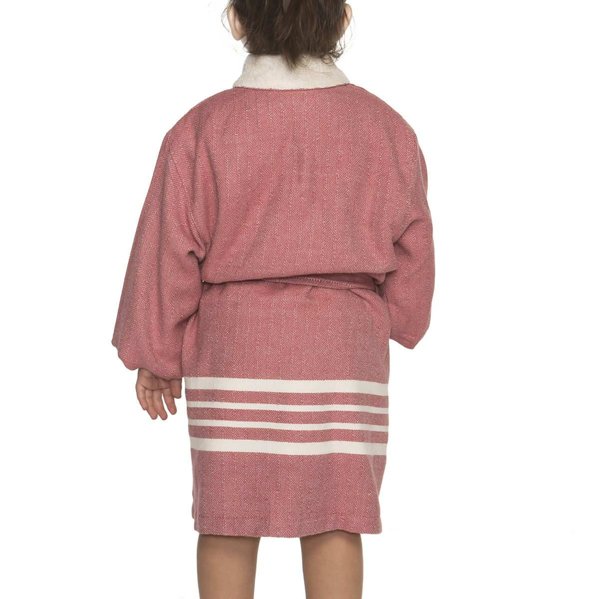 Bathrobe Kiddo Terry - Dusty Rose