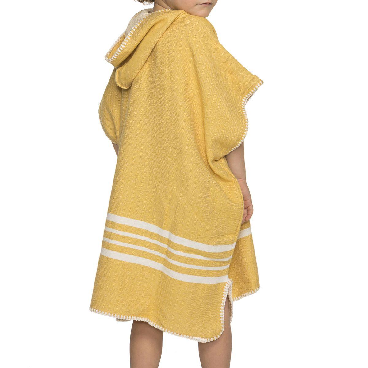 Poncho Kiddo / Sultan - Yellow