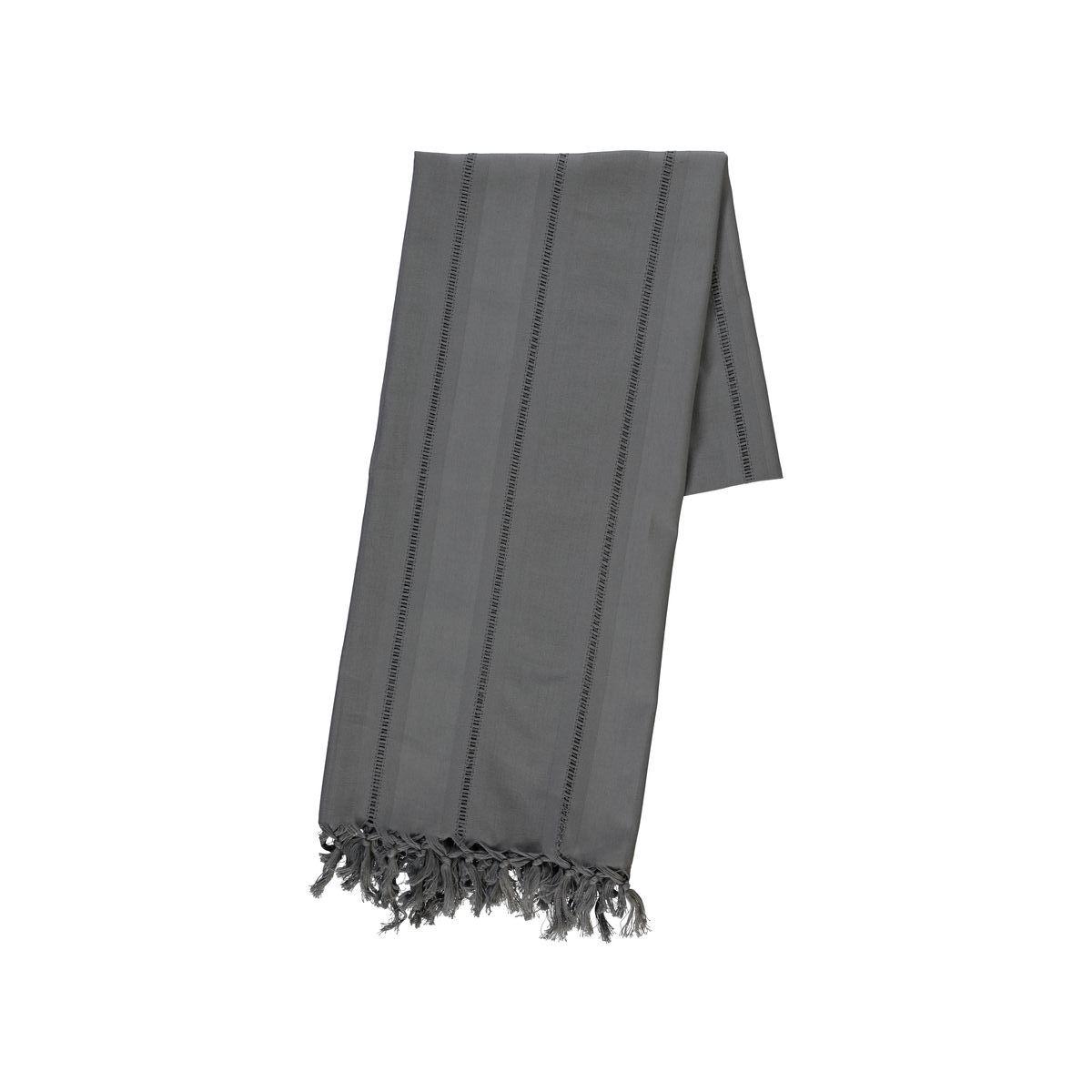 Peshtamal / Hamam Towel Ajur - Dark Grey