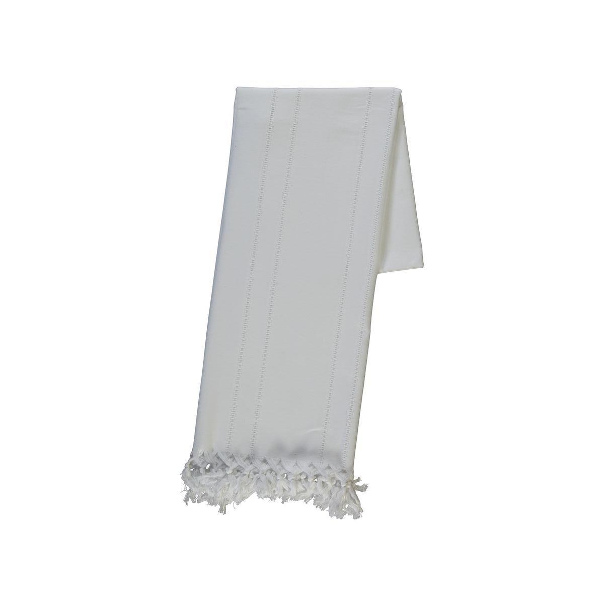 Peştemal Ajurlu - Beyaz