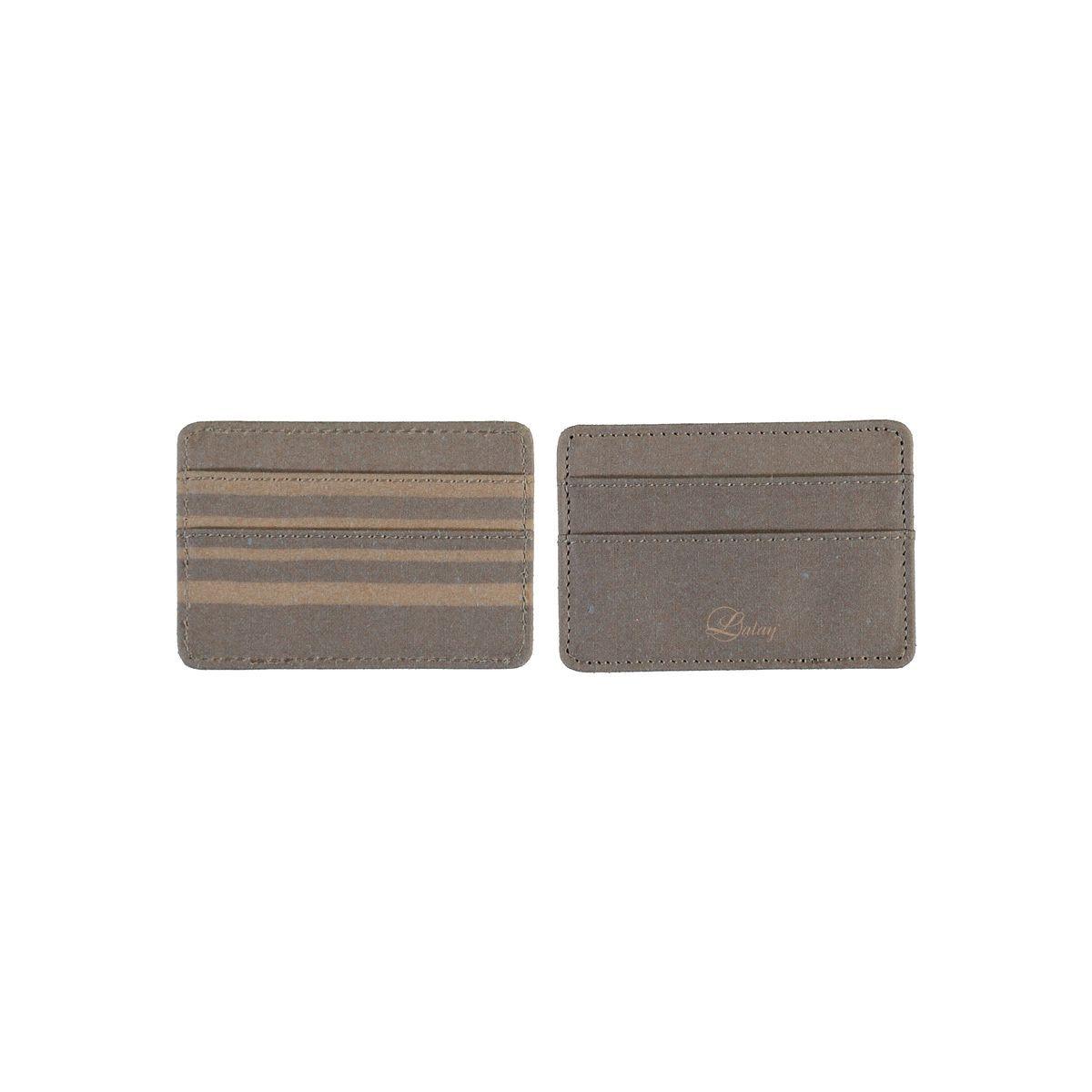 Cardholder Leather / Beige