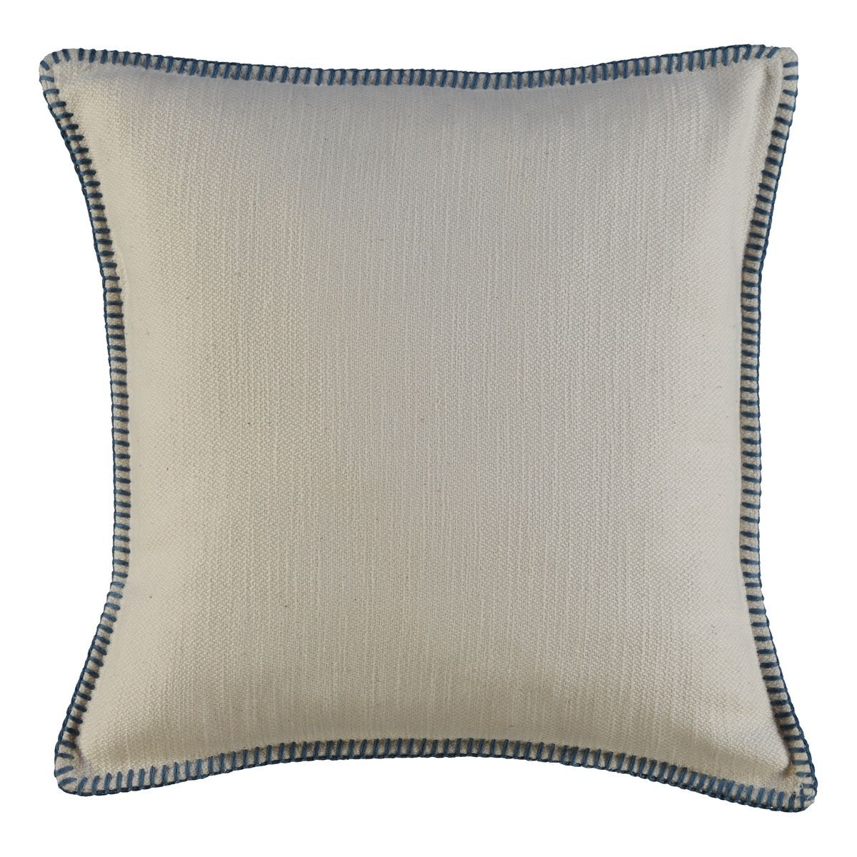 Cushion Cover - Simple / Air Blue Stitched