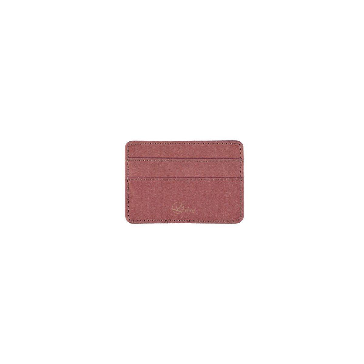 Cardholder Leather / Dusty Rose
