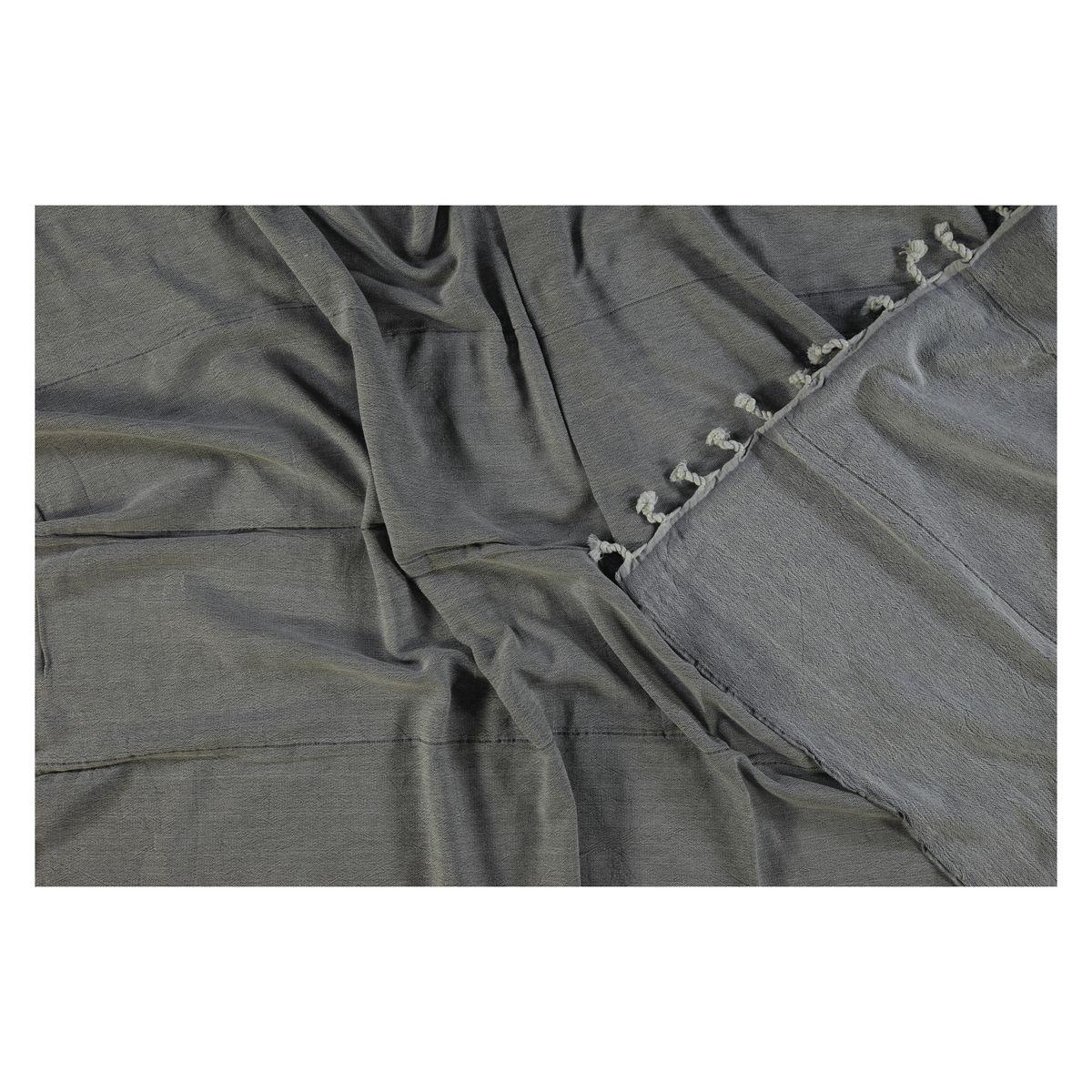 Peshtemal Double Side / Grey - Grey