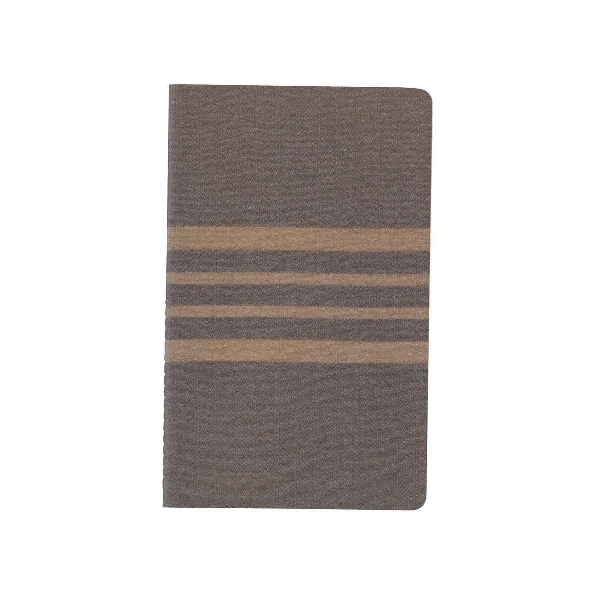 Notebook Medium / Leather - Beige