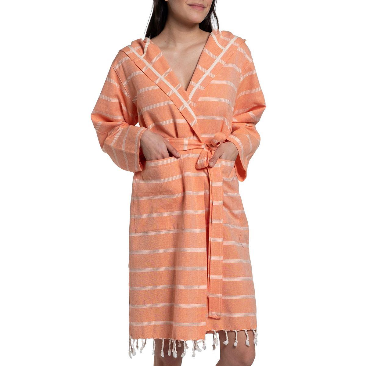 Bathrobe Kokosh - Orange
