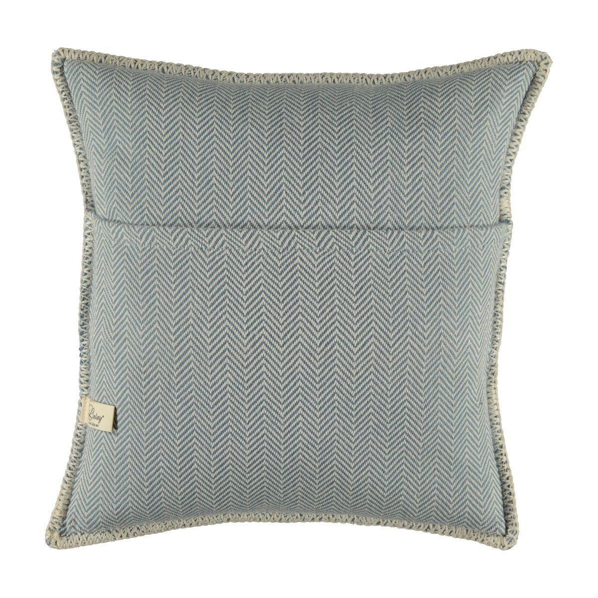 Cushion cover / ZigZag- Air Blue / 40x40