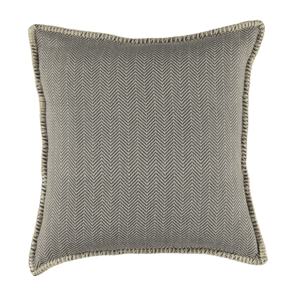 Cushion cover / ZigZag- Dark Grey / 40x40