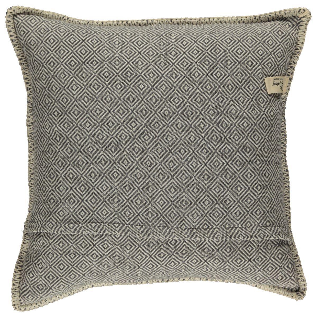 Cushion cover / Diamond - Dark Grey / 40x40