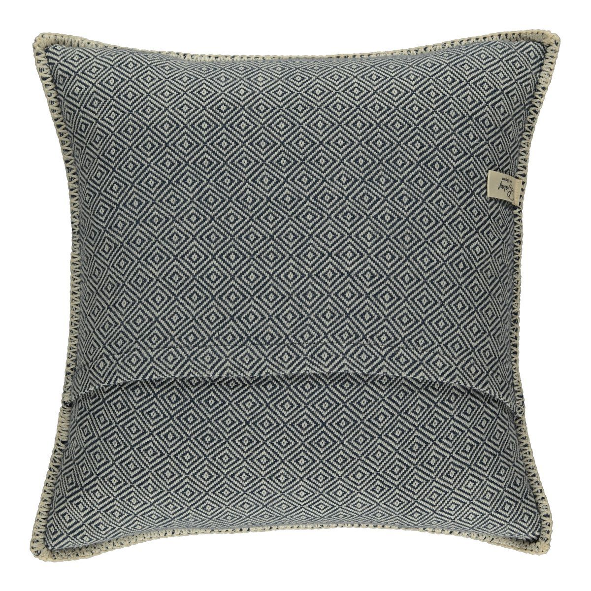 Cushion cover / Diamond - Navy / 40x40