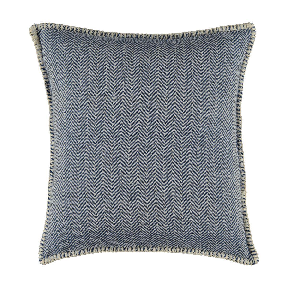Yastık Kılıfı Zigzag - Royal Mavi / 40x40