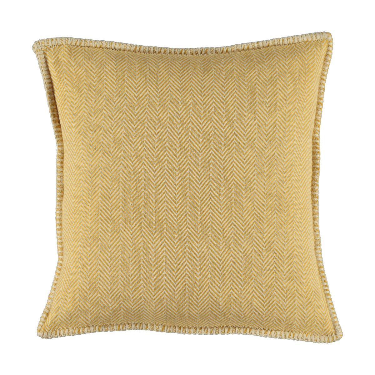 Cushion cover / ZigZag- Yellow / 40x40