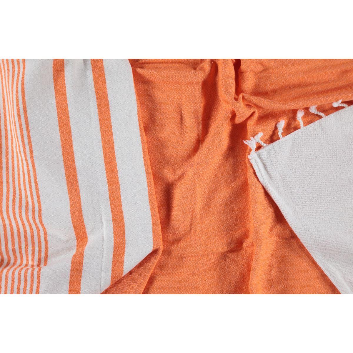 Peshtowel Tabiat - Double Face / Orange