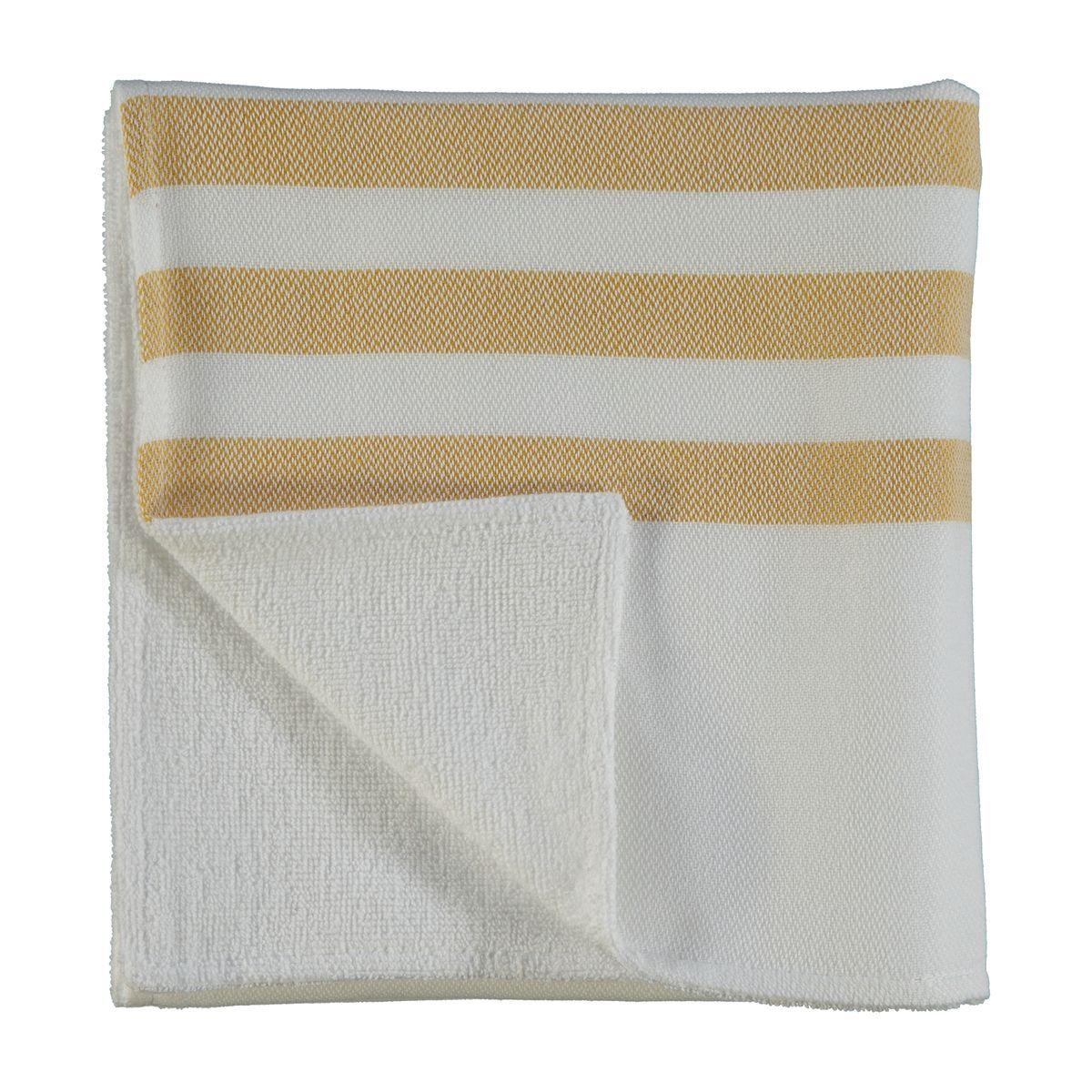 Havlu Mini Bala Sultan / Çift Yüzlü - Beyaz / Sarı