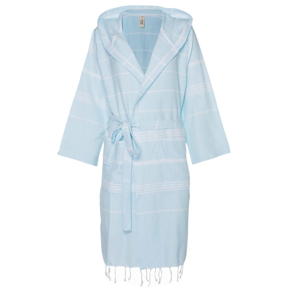 Bornoz Leyla CP - Buz Mavi