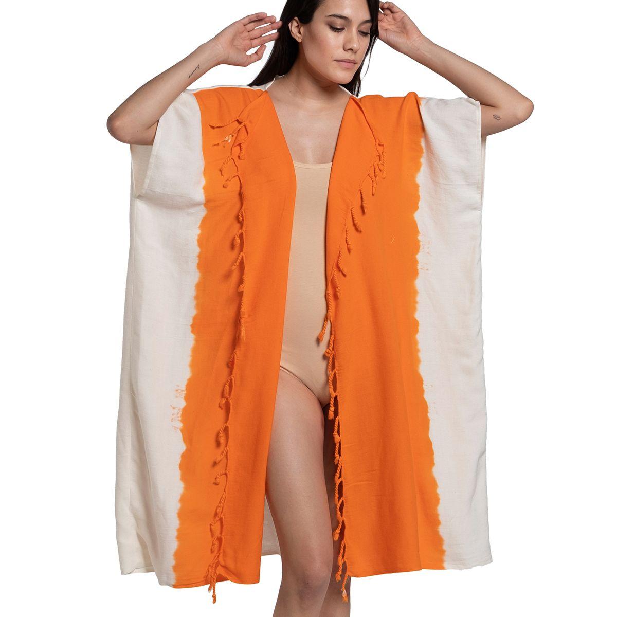 Jacket Minzi / Tie Dye - Bottom Orange