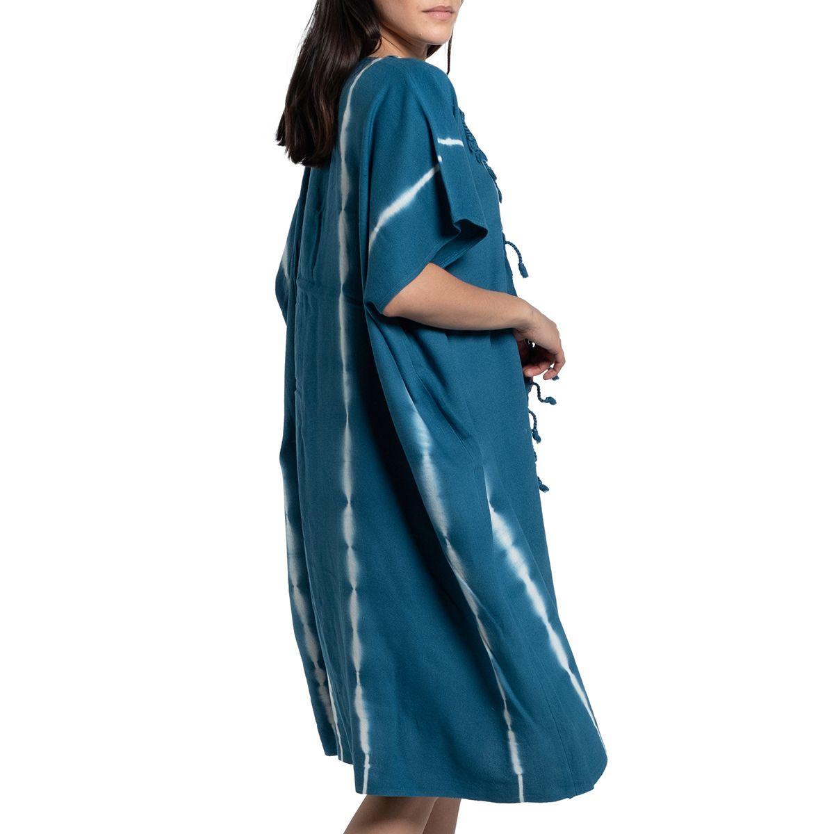 Tunik Minzi - Batik / Petrol Mavi