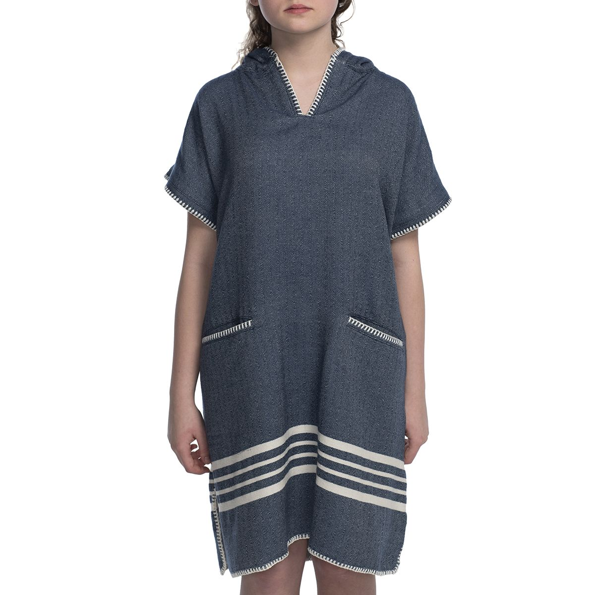 Adult Poncho - Sultan / Navy