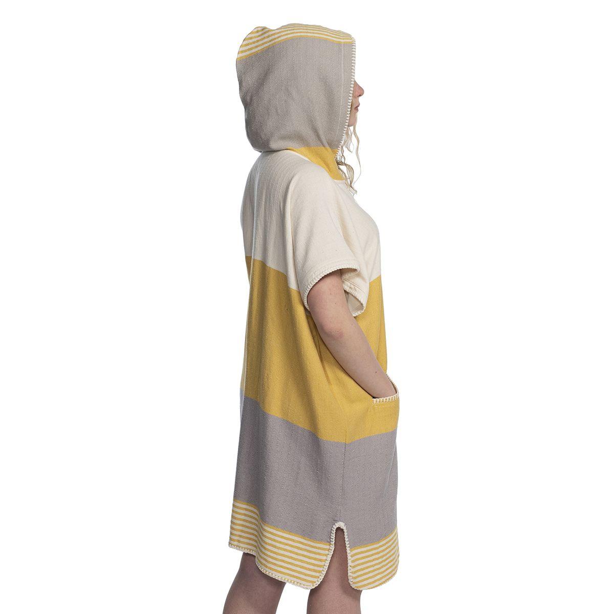 Panço İkiz Sultan - Sarı / Açık Gri
