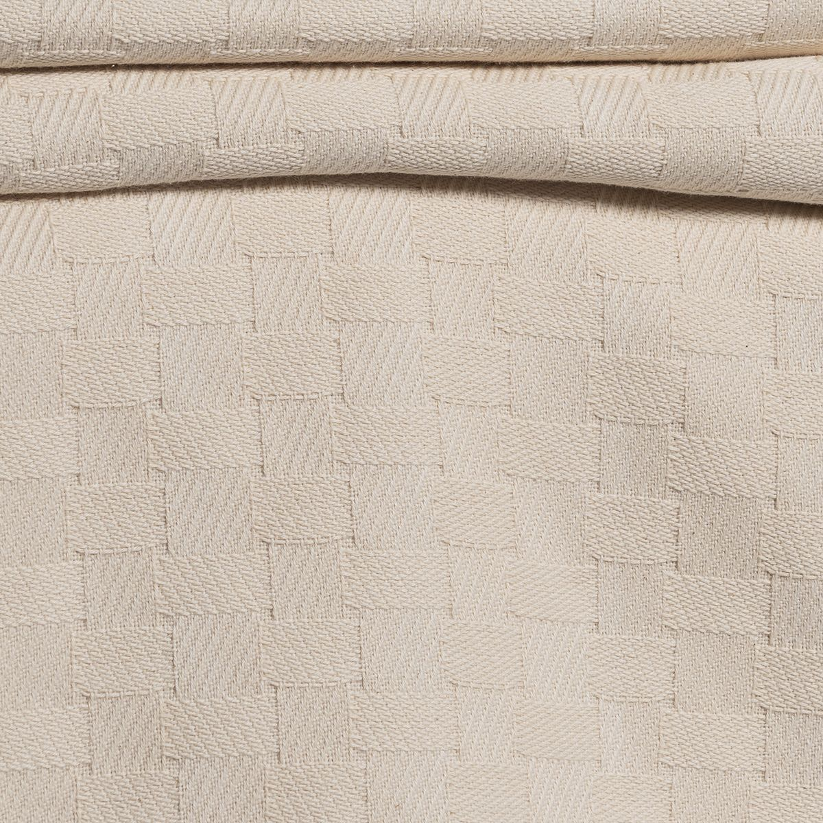 Throw Sugar Fabric - Patchwork / Black Stitched