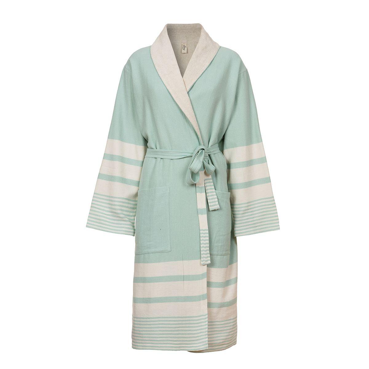 Bathrobe Tabiat with towel - Mint
