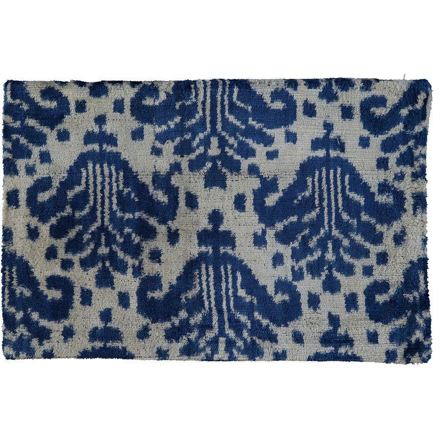 Cushion Cover / Velvet Ikat - 01 (25x40)