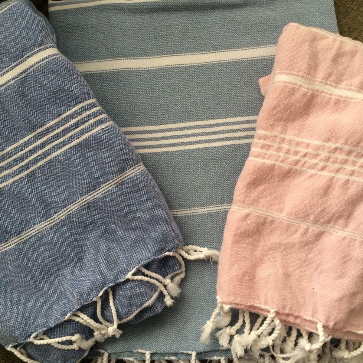 Bathrobe Leyla / With Towel Lining - Petrol Blue