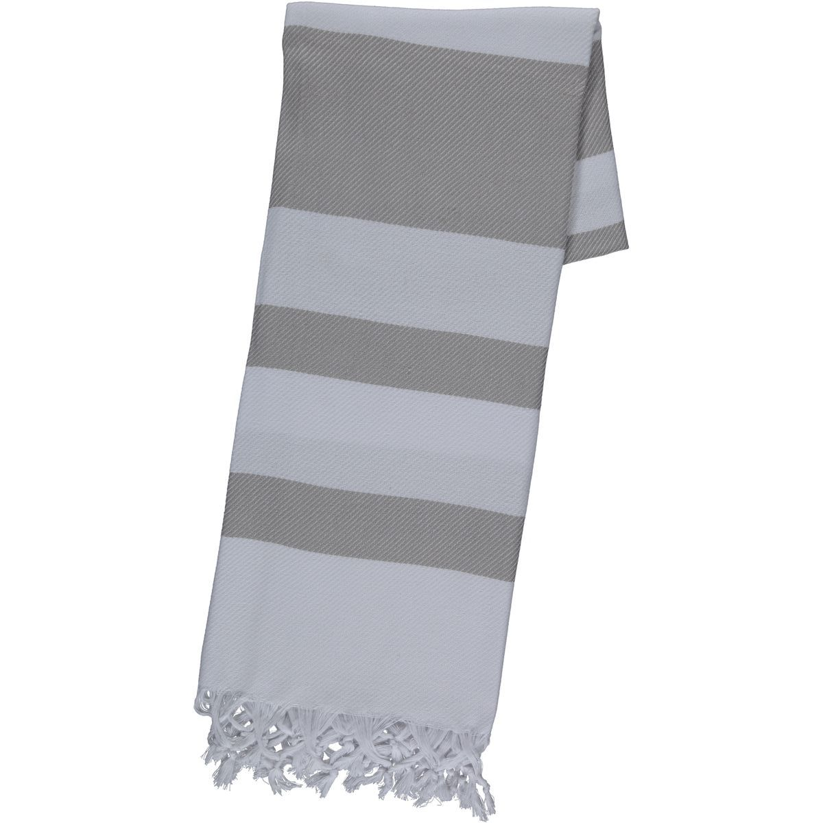 Peshtemal / Towel Soho - White / Taupe