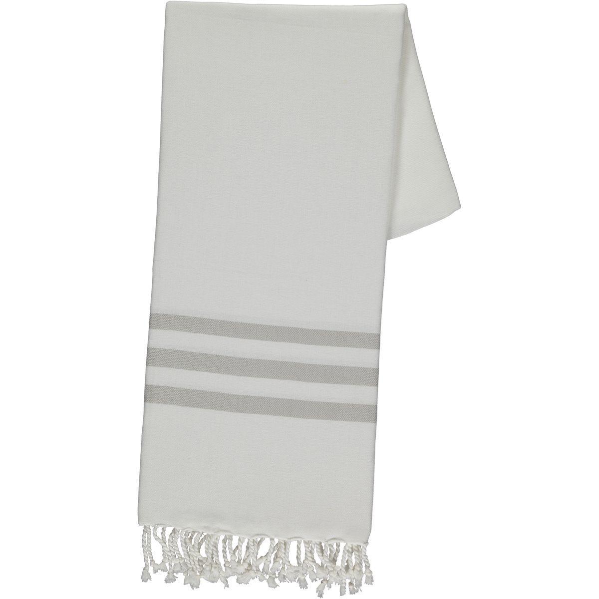 Peshtemal Bala Sultan - Taupe Stripes