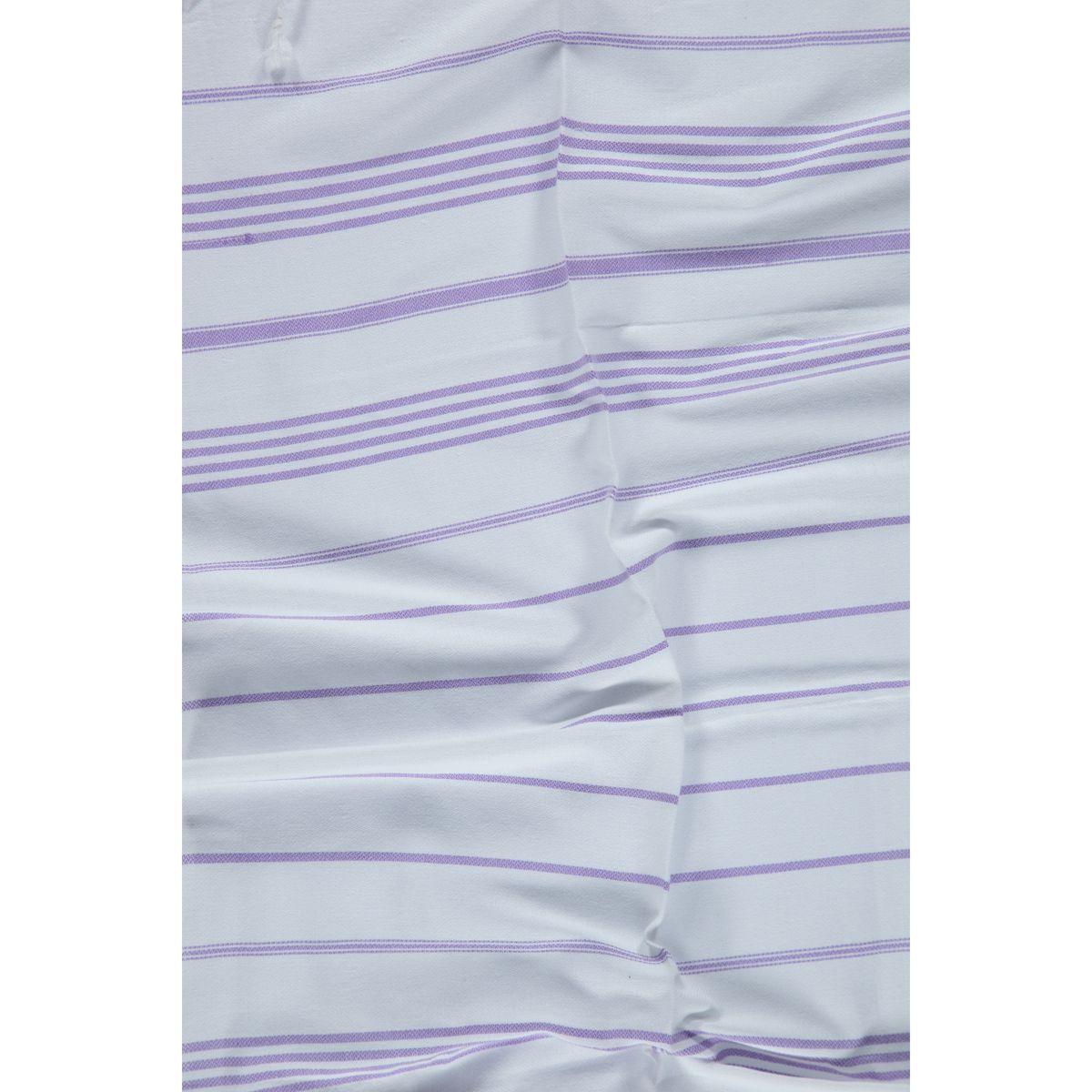 Peshkir Leyla / Dark Lilac Stripes