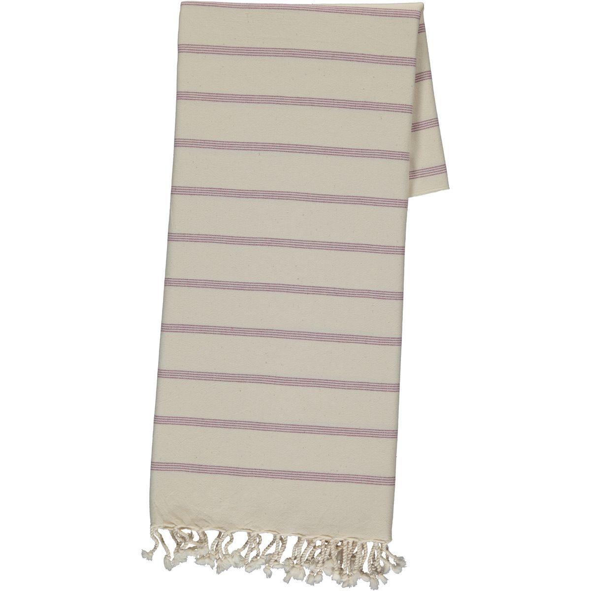 Peshtemal Carcar - Light Purple Stripes