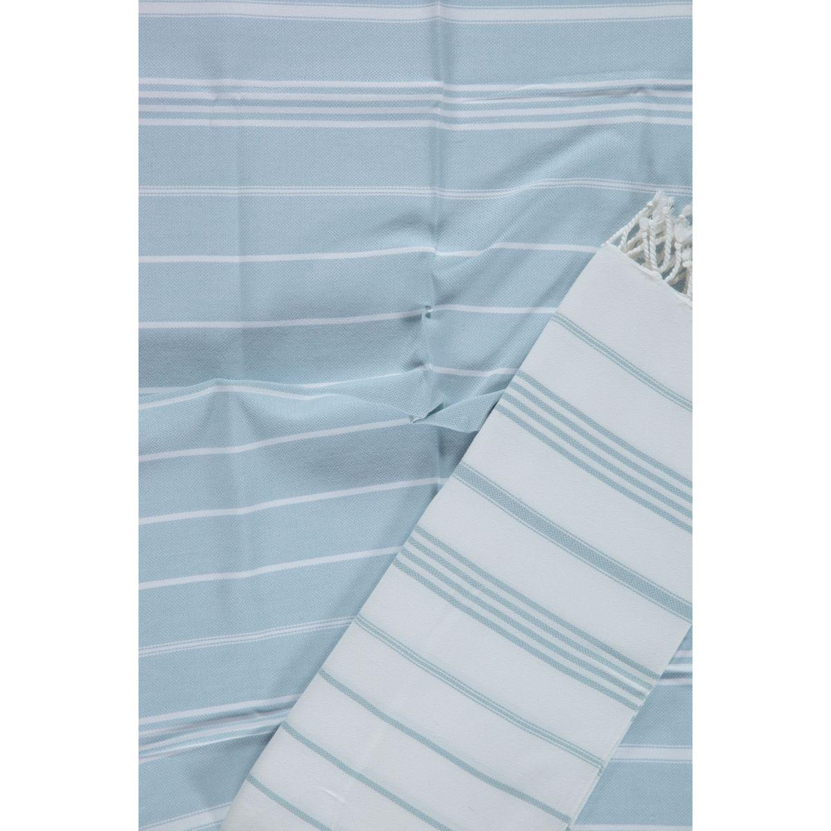 Peshkir Leyla / Light Blue stripes