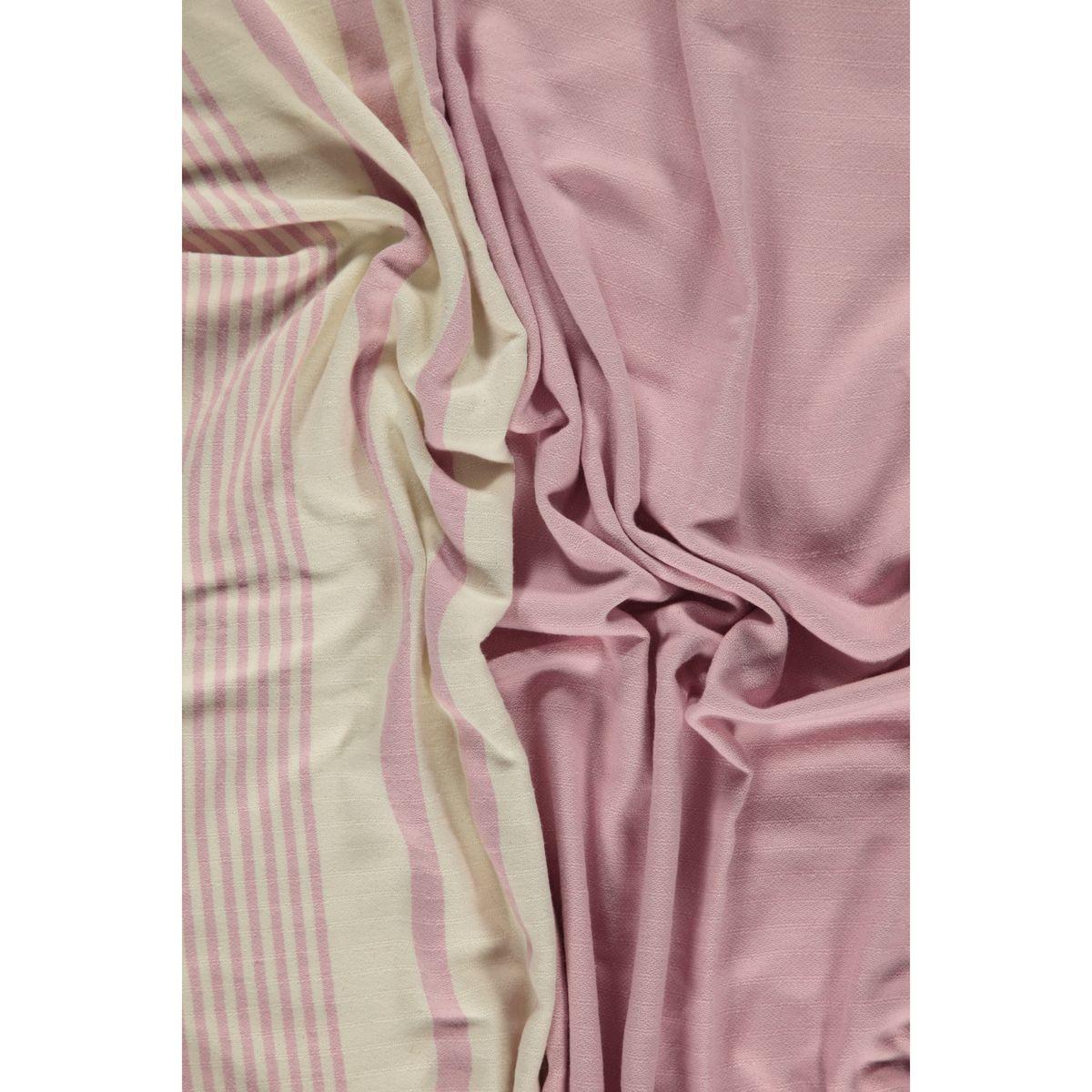 Peshtemal Tabiat - Rose Pink