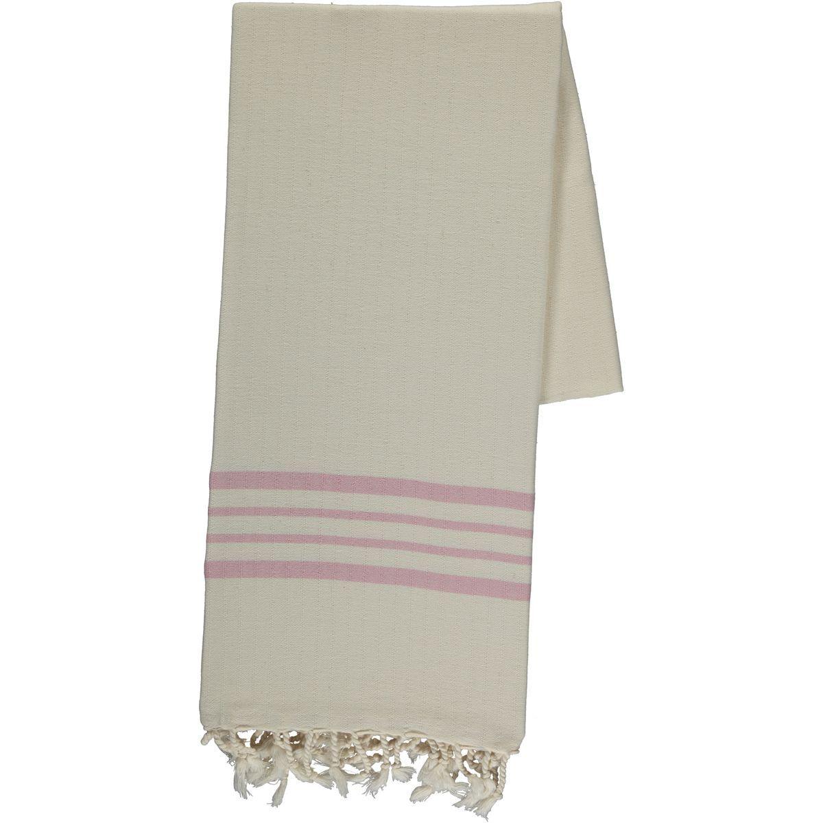 Peshtemal Sultan - Rose Pink Stripes