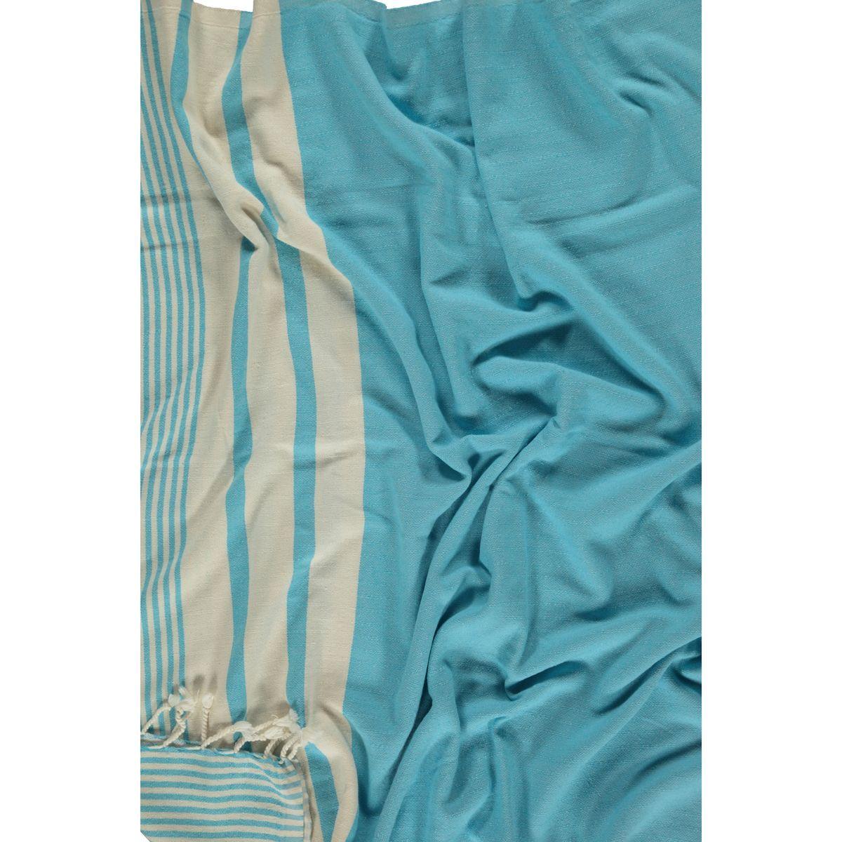 Peshtemal Tabiat - Turquoise