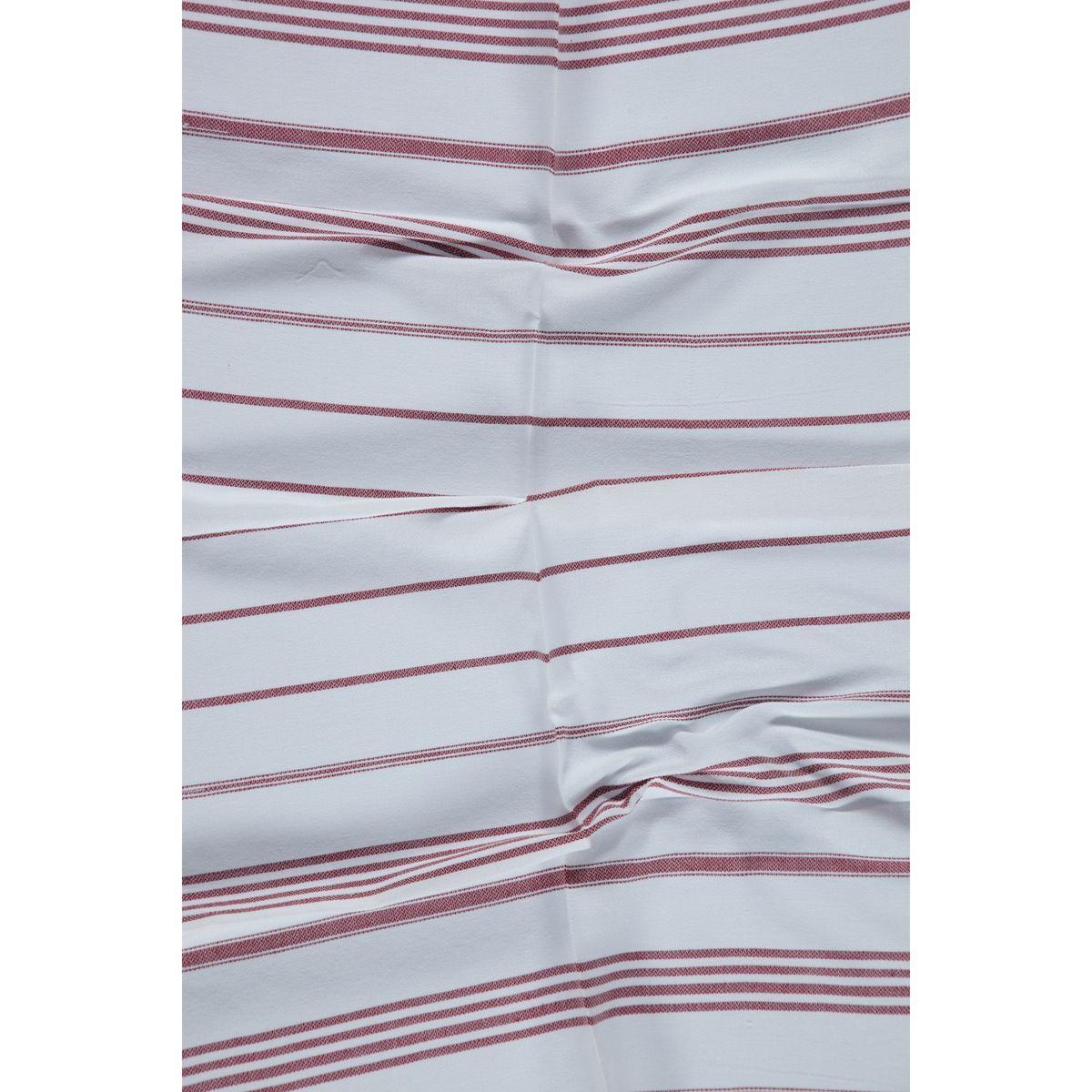 Peshkir Leyla / Bordeaux Stripes