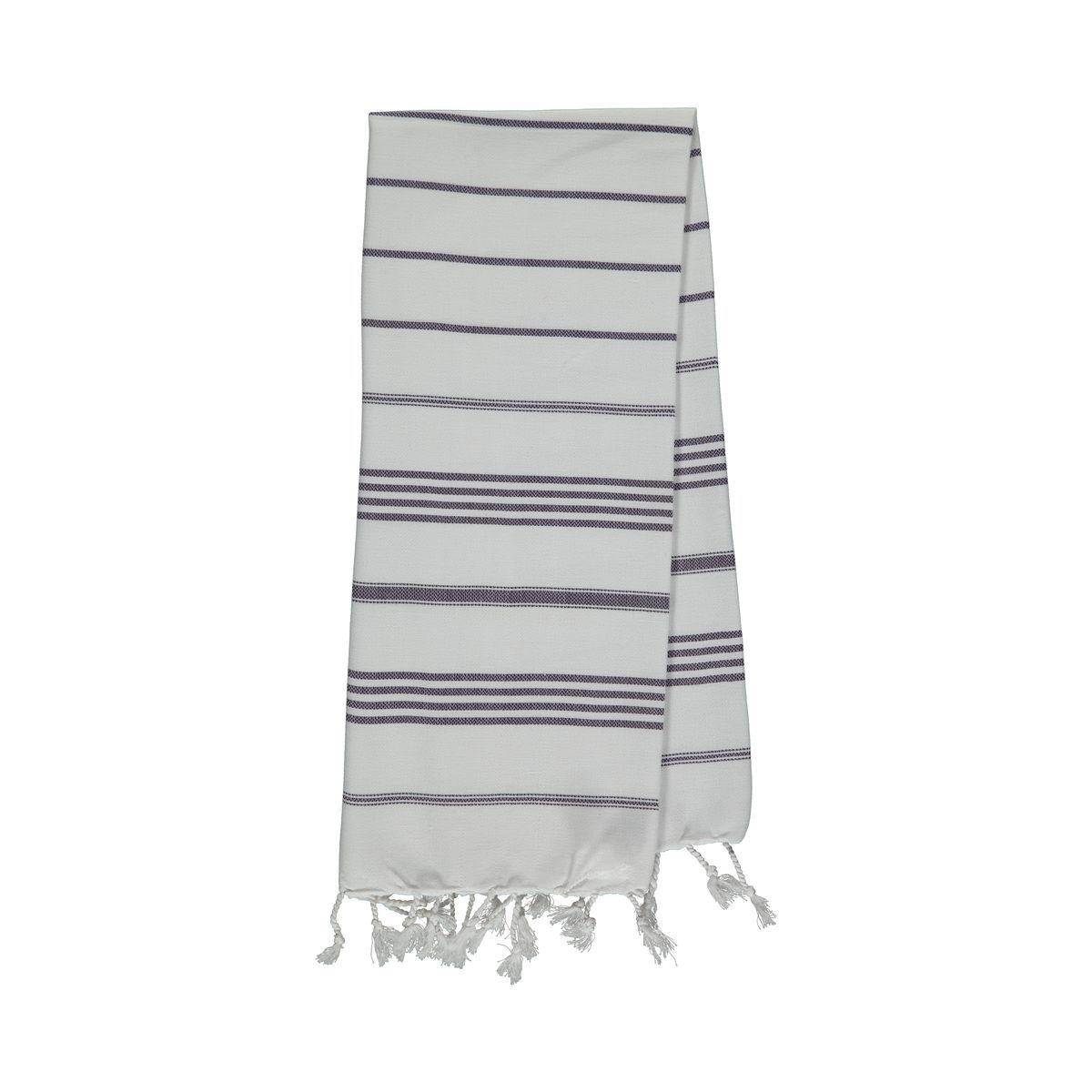 Peshkir Leyla / Dark Purple Stripes