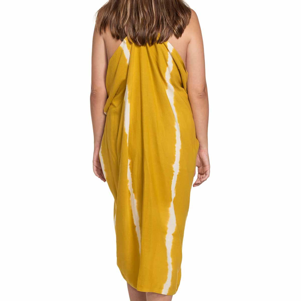 Pareo - Tie Dye / Yellow