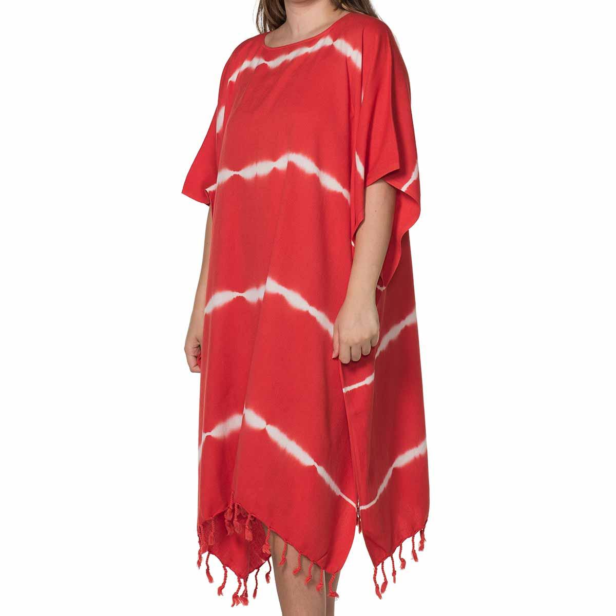 Tunic Daisy / Tie Dye - Base Red