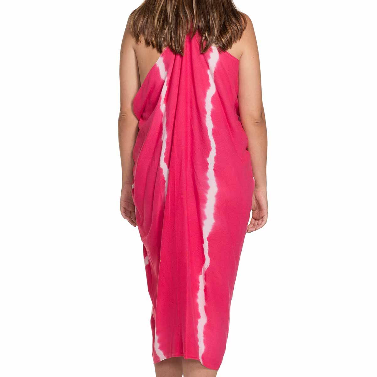 Pareo - Tie Dye / Fucshia