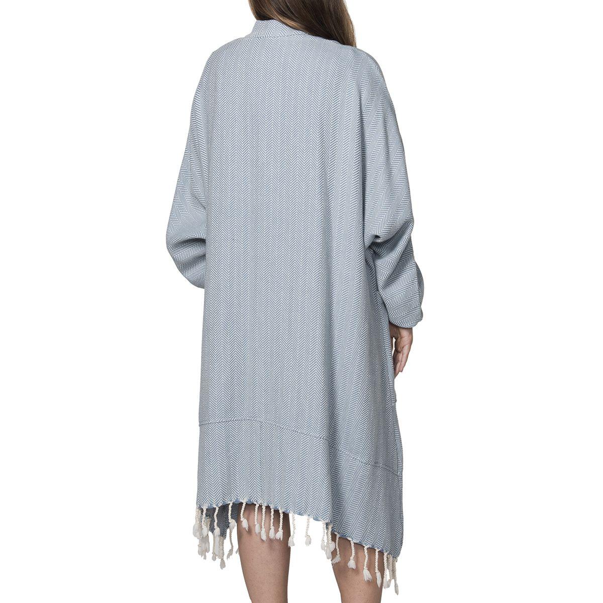 Dress ZigZag - Air Blue