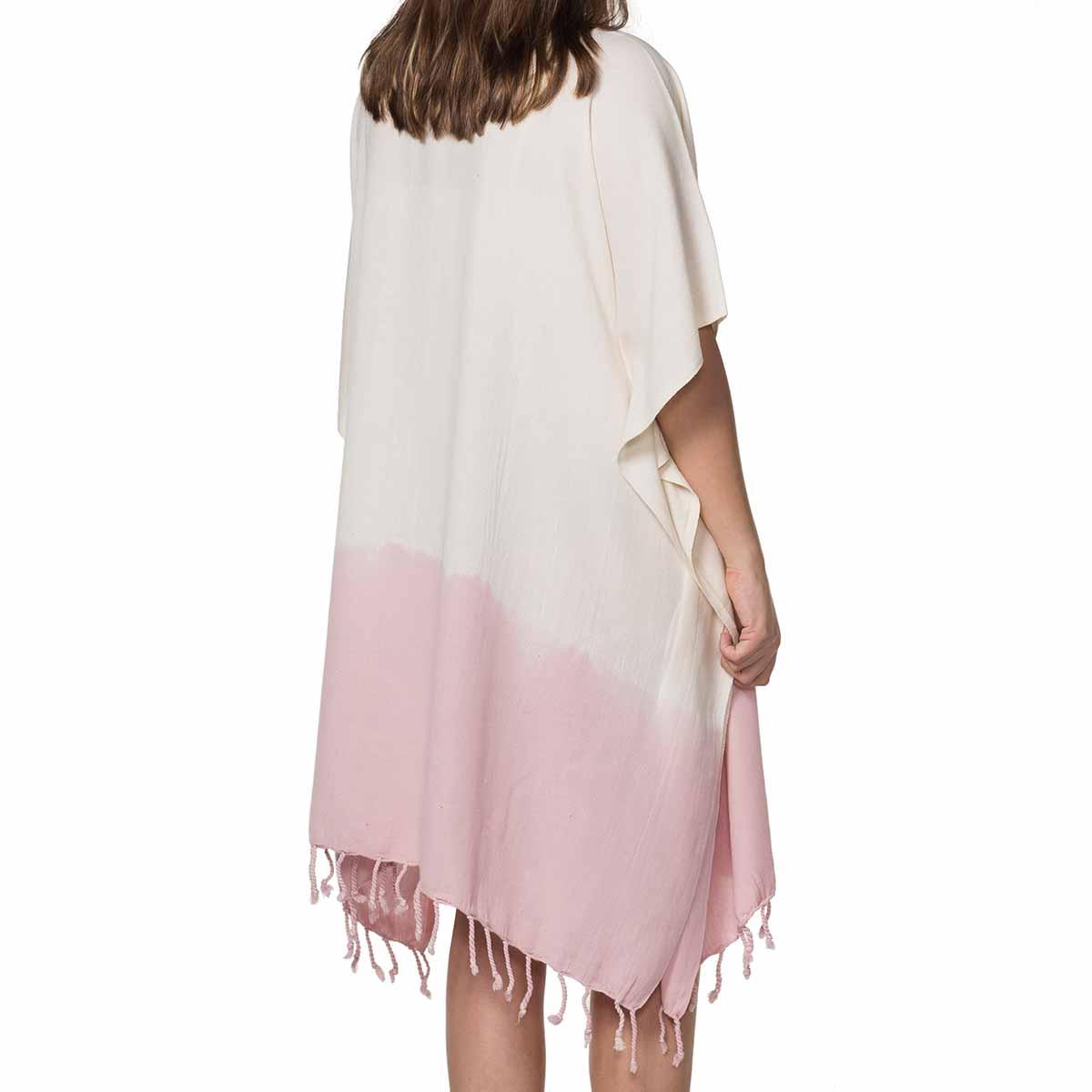 Tunic Minzi / Tie Dye - Bottom Rose Pink