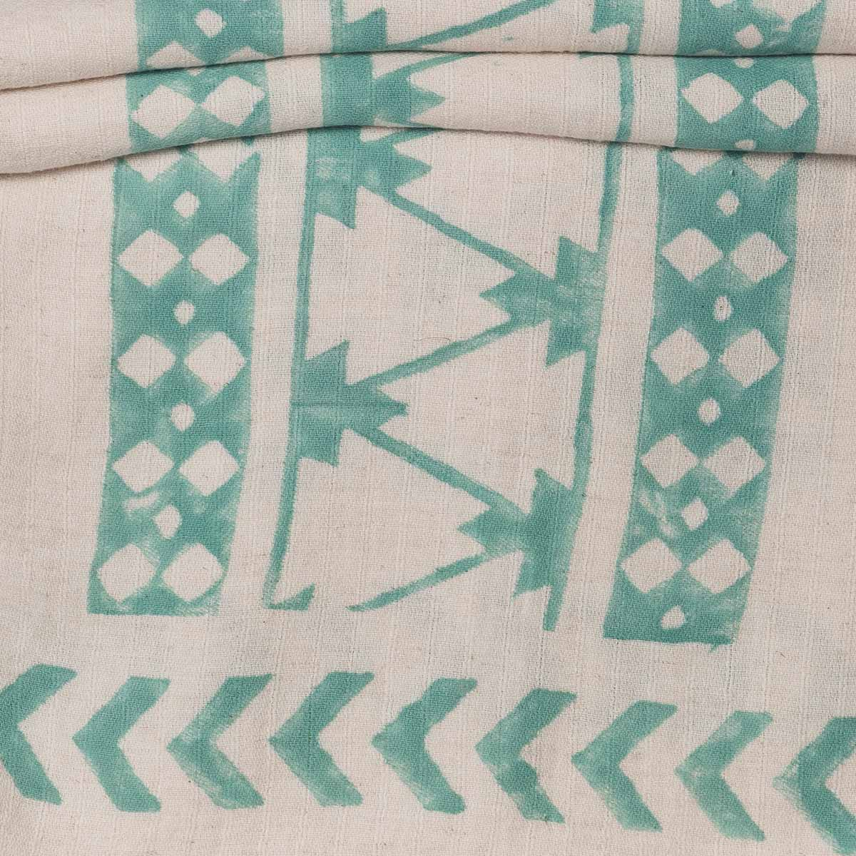 Throw / 06 Hand Printed - Mint