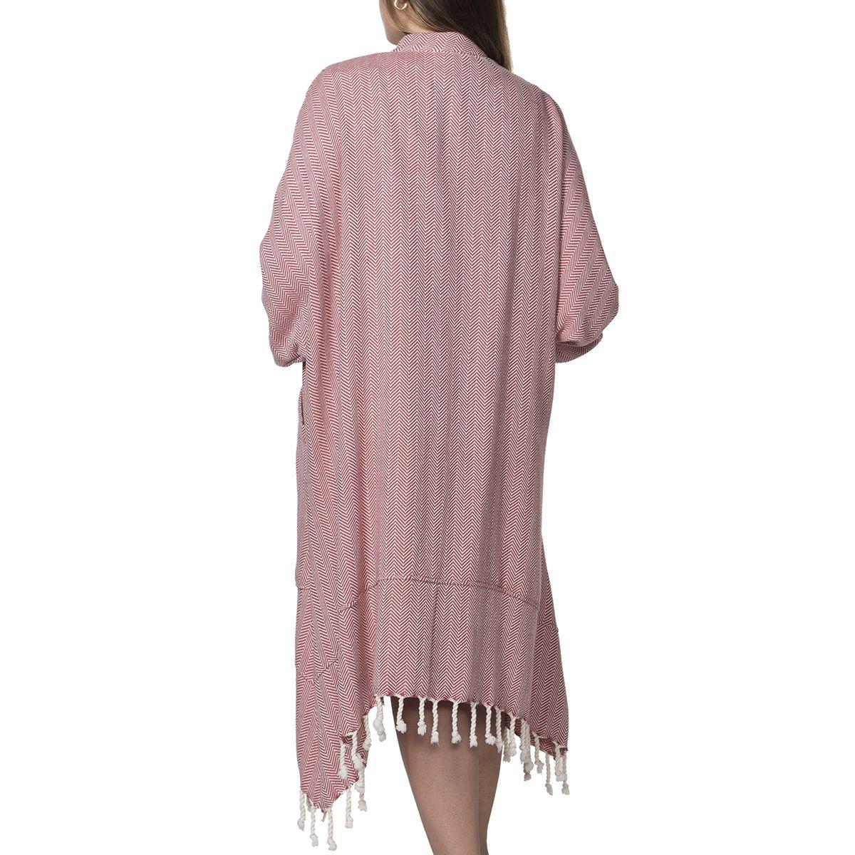 Elbise Zigzag - Gül Kurusu
