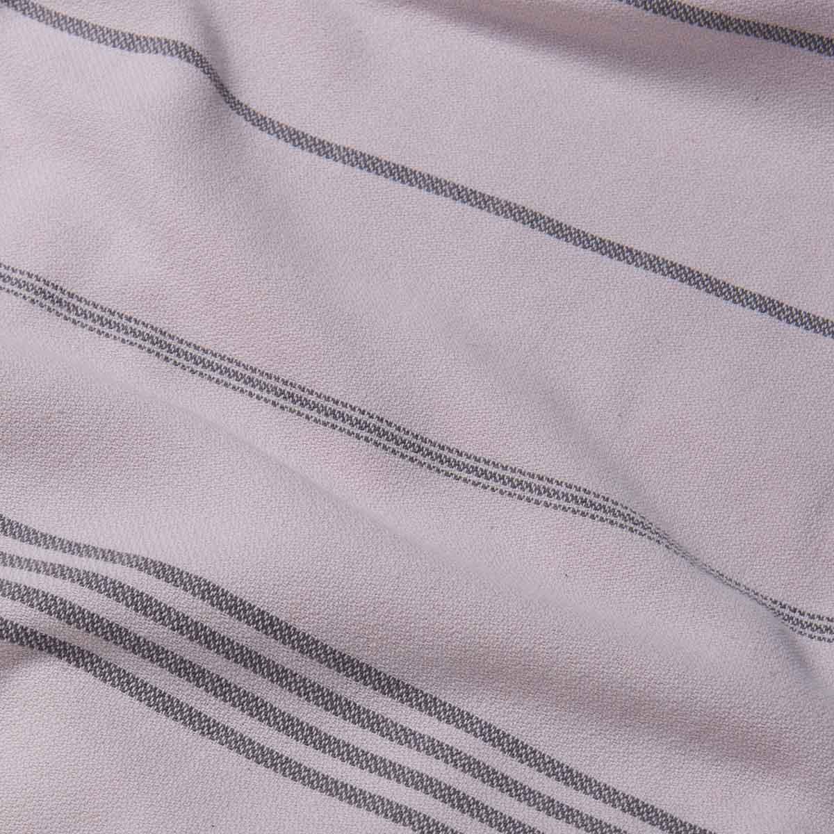 Peshtemal Devrim - Rose Pink / Dark Grey (StoneWashed)