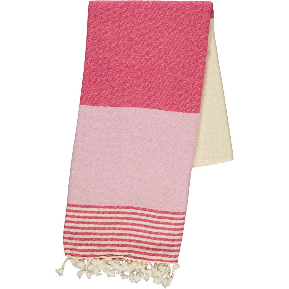 Peshtemal Twin Sultan - Fuchsia / Rose Pink